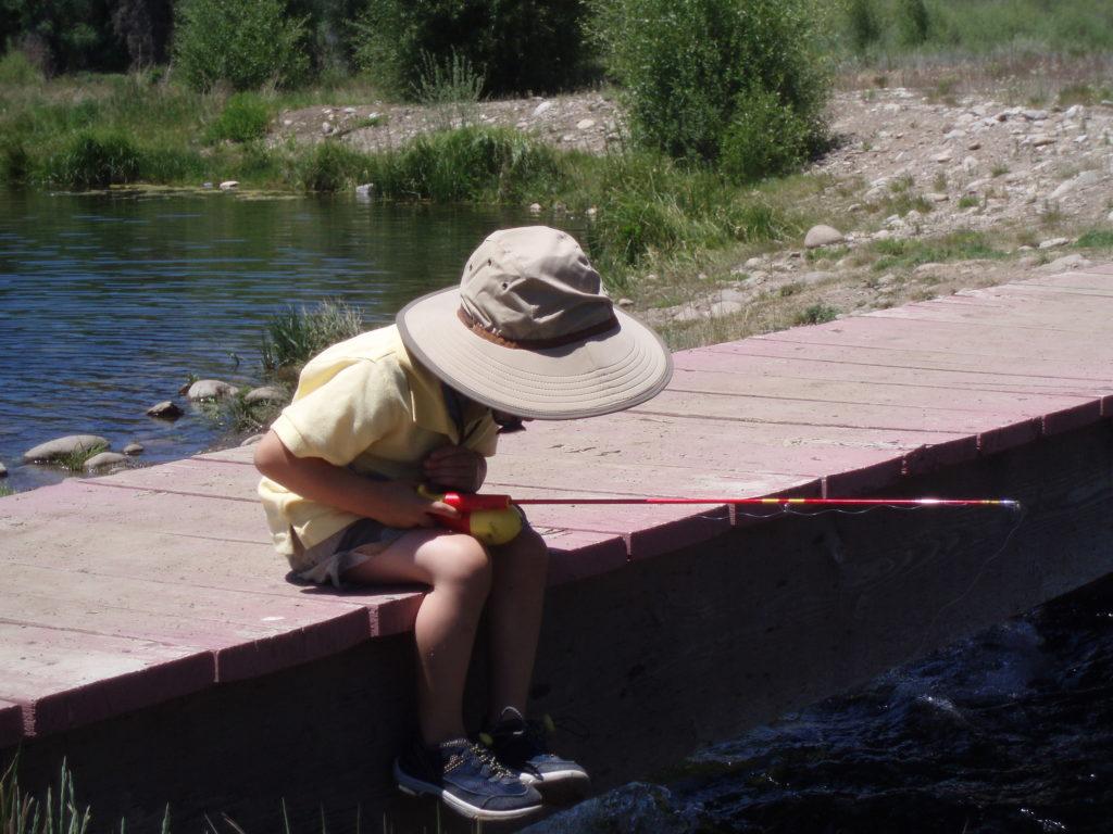 Kids Fishing at Keystone Resort
