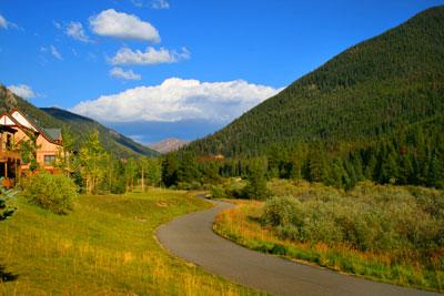 Bike Path near Red Hawk Lodge