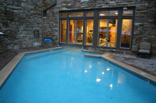 Swimming pool at The Timbers in Keystone Colorado