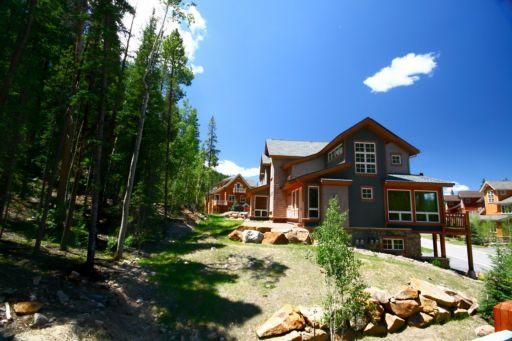 Mountain retreat in summit county colorado