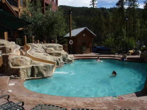 The pool at the Springs in River Run Village