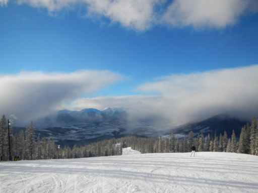View from the top of Keystone Resort