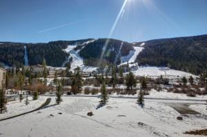Keystone ski slope views
