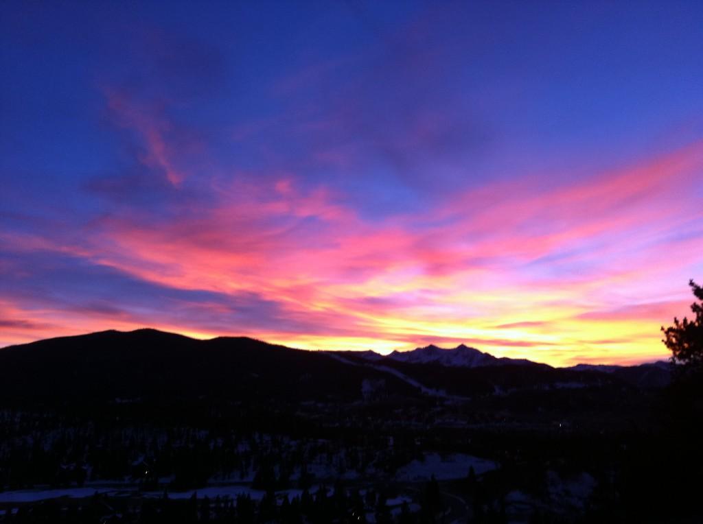 Colorado-sunset