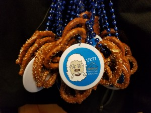 Pretzel Necklaces for beer and Bluegrass