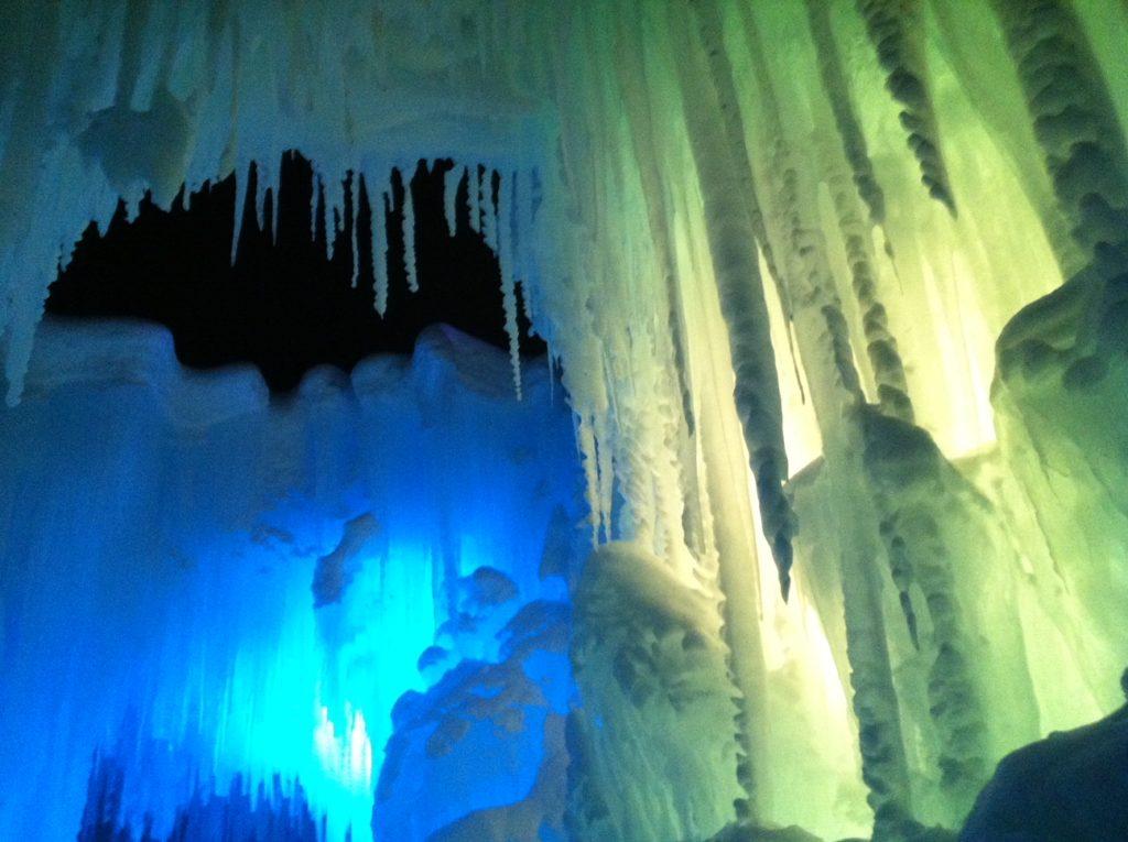 Ice Castles Dillon, CO near Keystone Resort Colorado