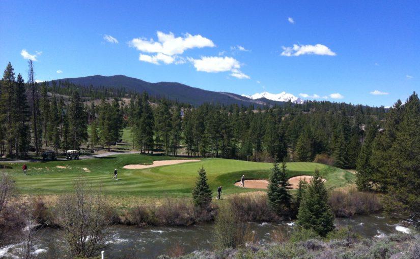 Golfing at Keystone