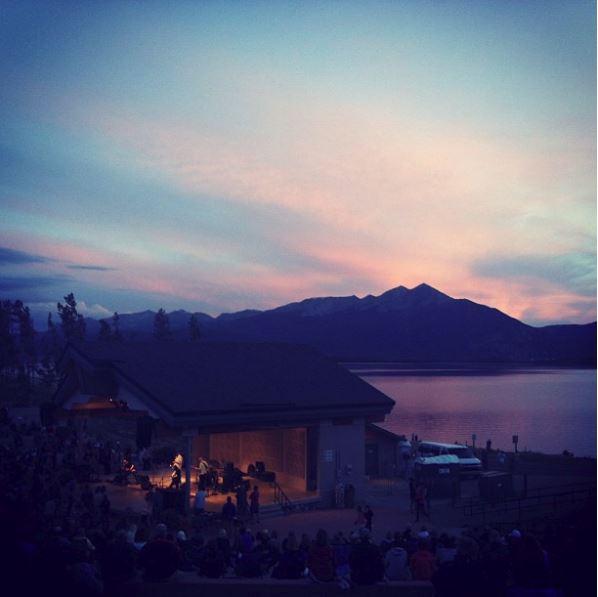 Free concerts at Dillon Amphitheatre