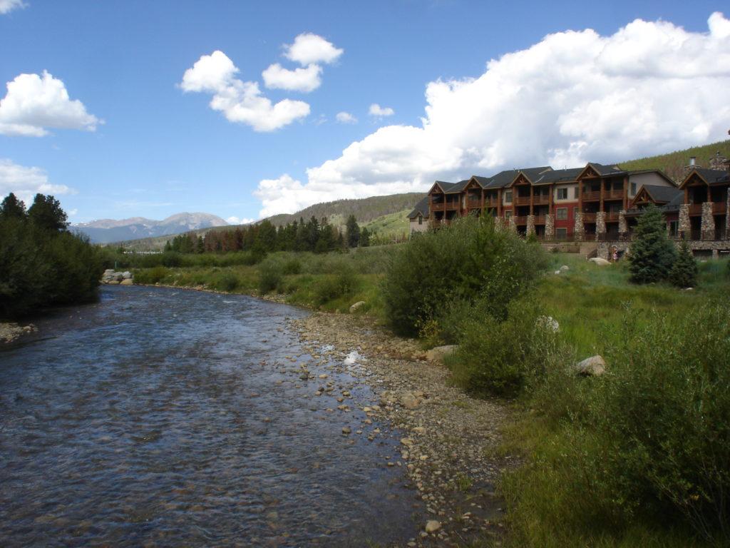Views of River at Hidden River Colorado Lodge