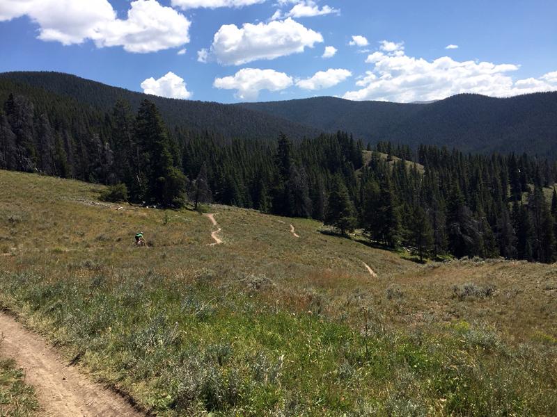 Fun Descent at Keystone Gulch Trail