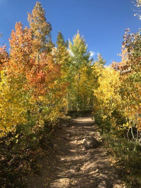 Old DIllon Rez Hike Near Keystone