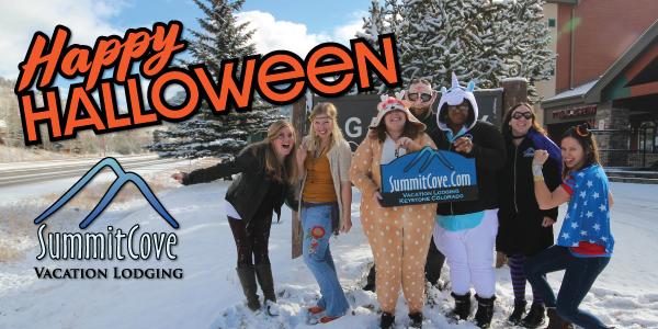 SummitCove Lodging Staff Dressed Up for Halloween 2018