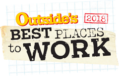 Outside Magazine Best Place to Work 2018