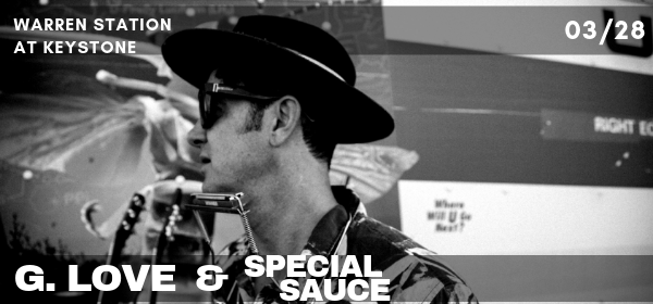 G Love Special Sauce at Warren Station in Keystone CO