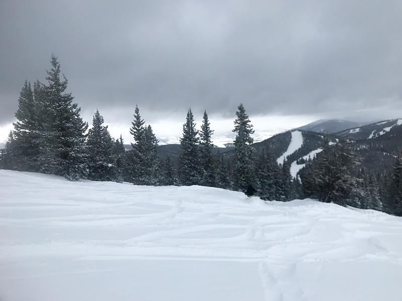 March snow at Keystone