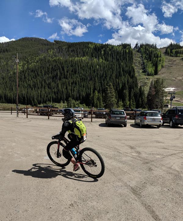 Summer Mountain Bike Dirt Camp for Kids at Keystone CO