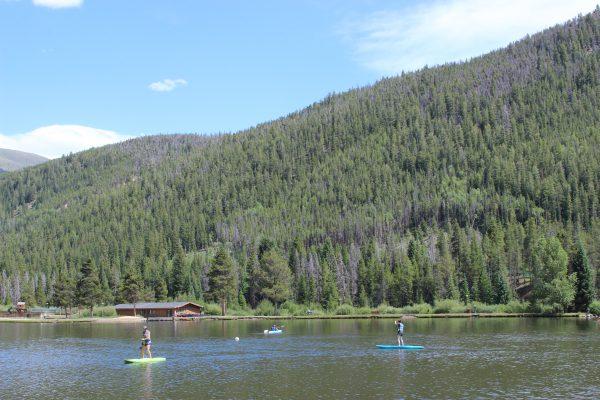 Summer activities at Keystone Lake