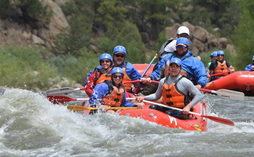 Hit the whitewater on a Colorado Rafting Trip