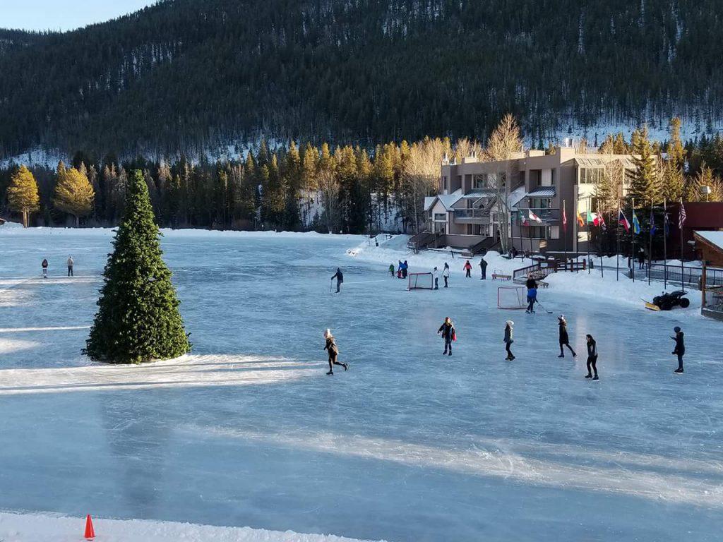 Holiday Ice Skating at Keystone Lake