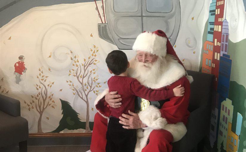 Kidtopia Santa Visit at Keystone Ski Resort