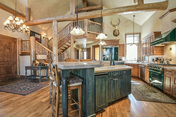 Grand Entrance at Keystone Ranch Goldenrod Home