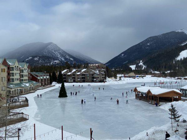 Ice Skating Rink at Keystone's Lakeside Village