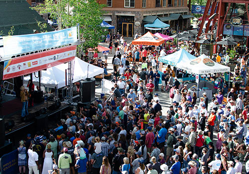 Bacon-Festival-Stage-View-from-Black-Bear-Condo-River-Run-Keystone