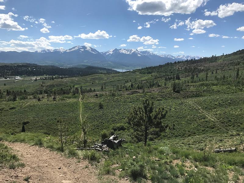 Mountain Biking Trails Near Keystone CO