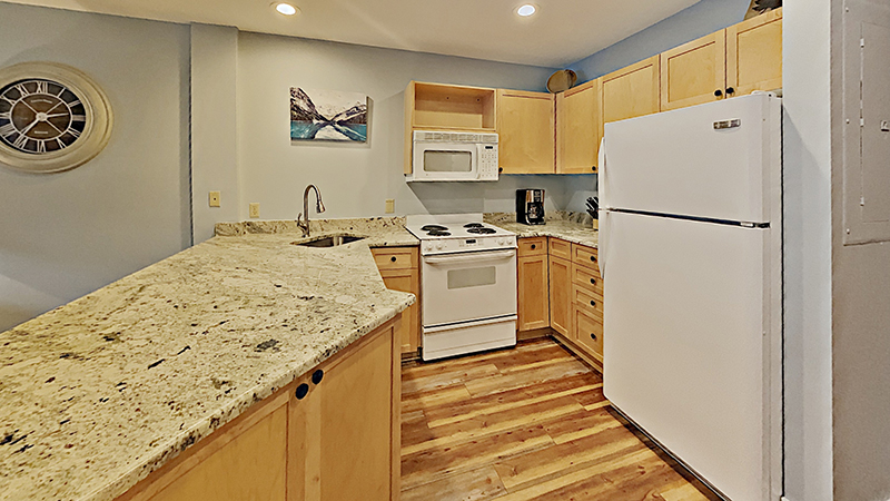Picture of kitchen at Silver Mill Rental Condo